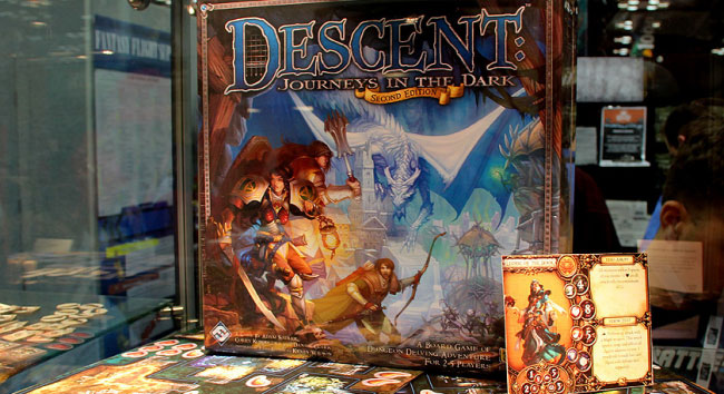 Descent: Journeys into the Dark, Second Edition