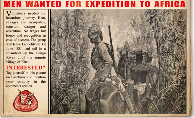 Congo: Expedition to Africa 1884