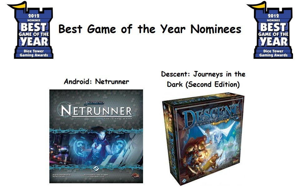 2012 award nominees