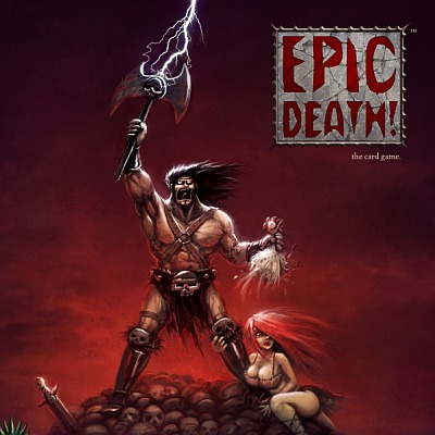 Kickstarter for Epic Death! The Card Game