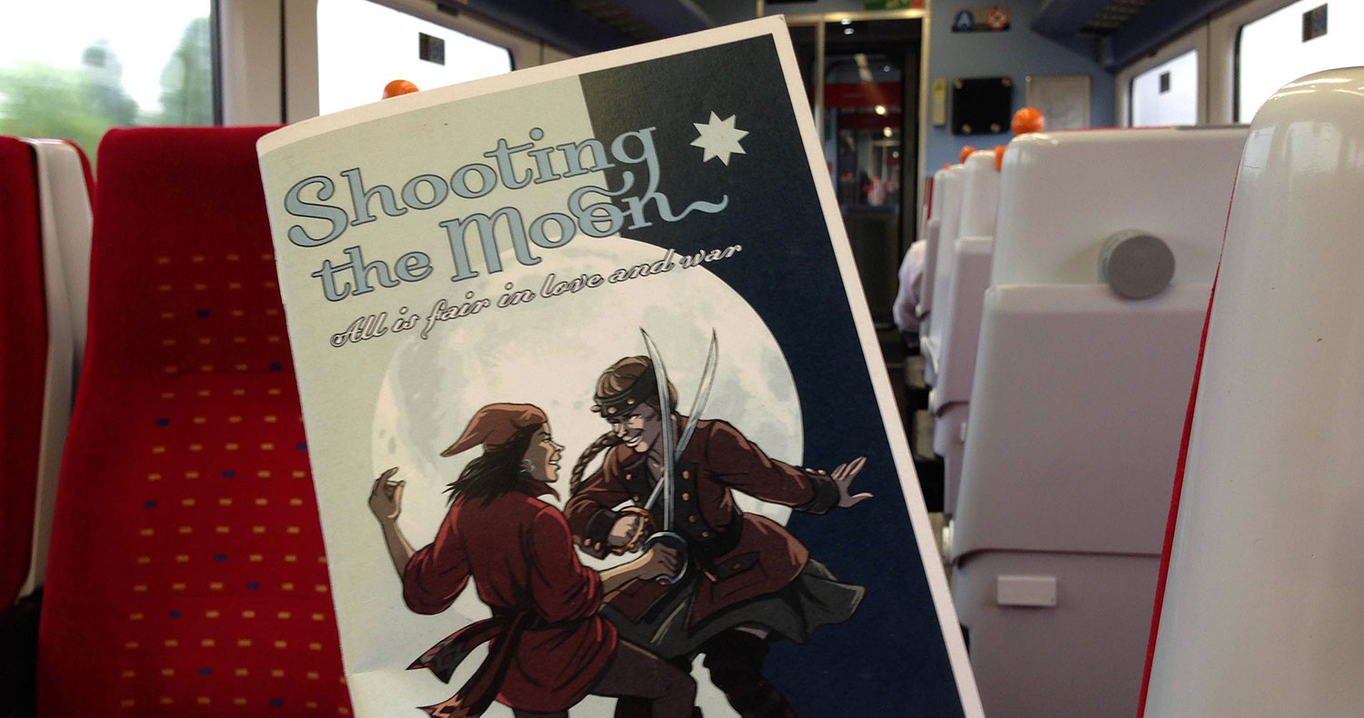 RPG Review: Shooting the Moon