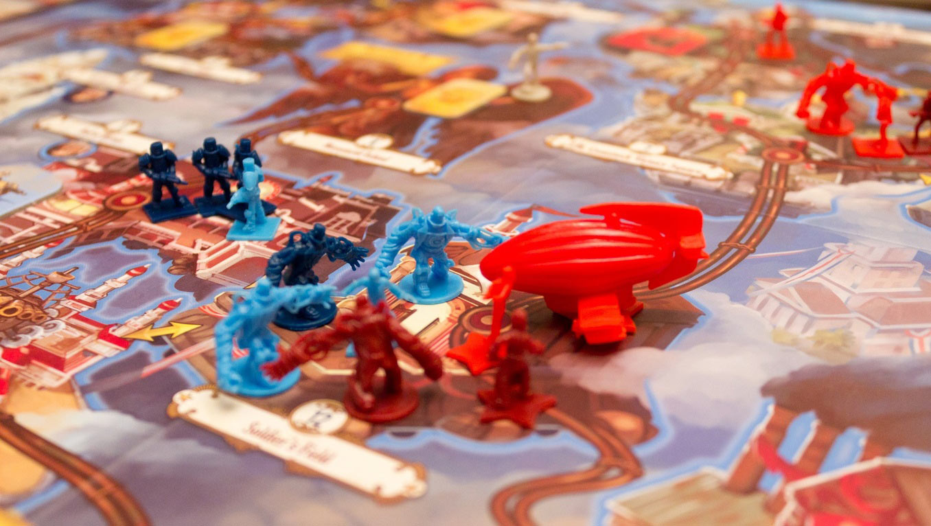 Impressions: The BioShock Infinite Board Game