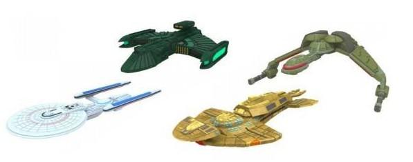 Star Trek: Attack Wing.