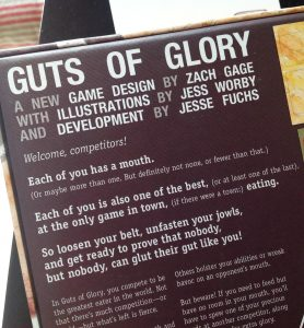 Review: Guts of Glory