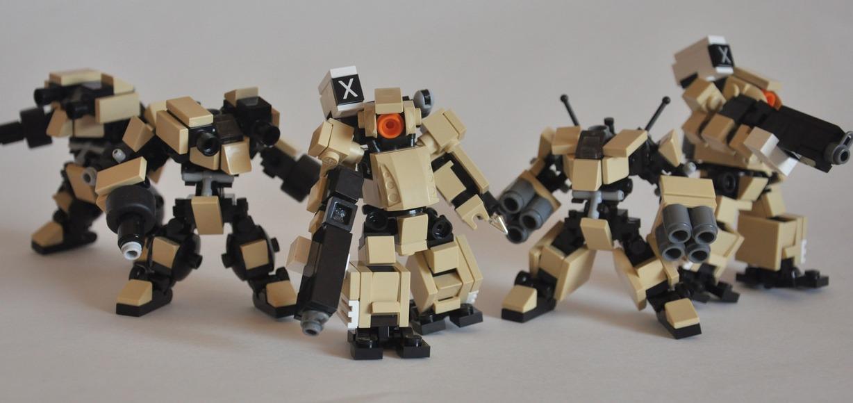 Mobile Frame Zero 002: Alpha Attack