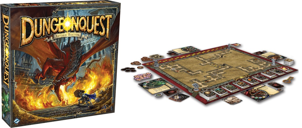 Revised Edition of DungeonQuest