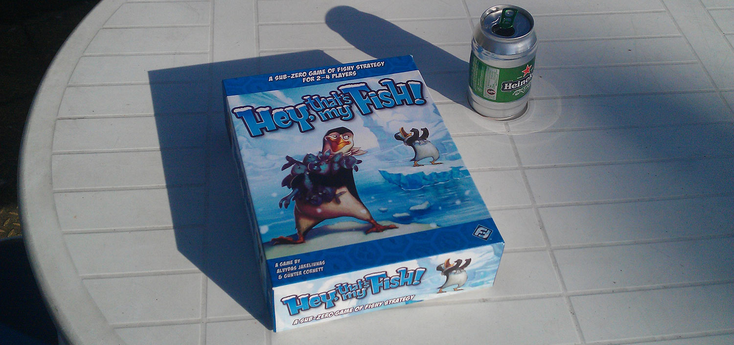 Review: Hey, That's My Fish!