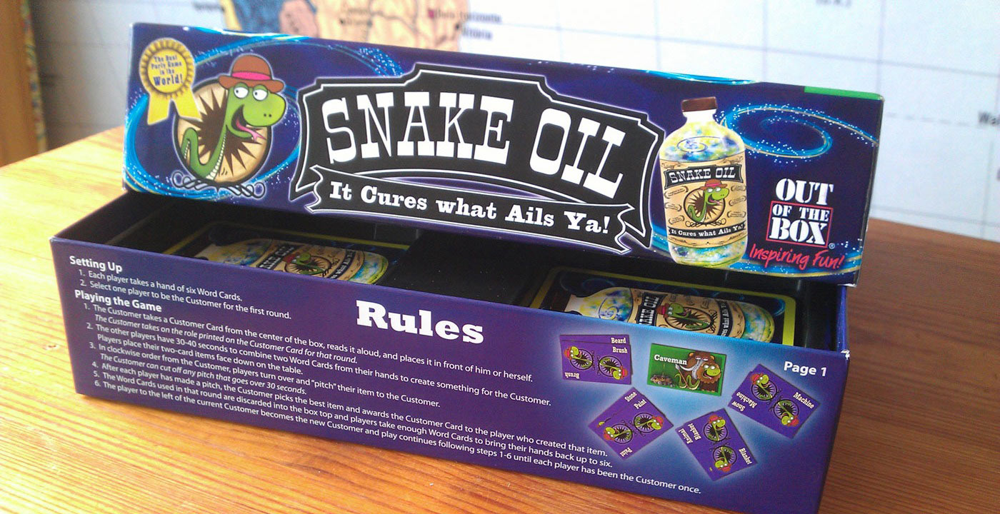 Review: Snake Oil