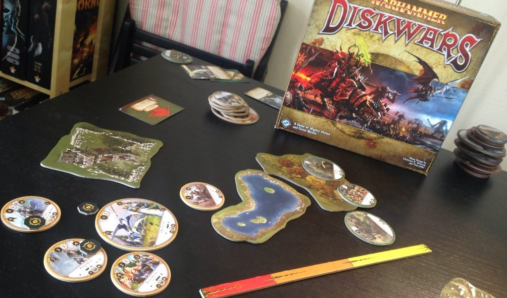 Addendum to the Diskwars review