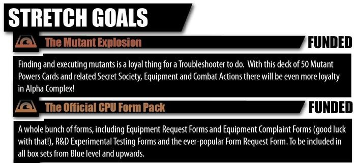Stretch Goals