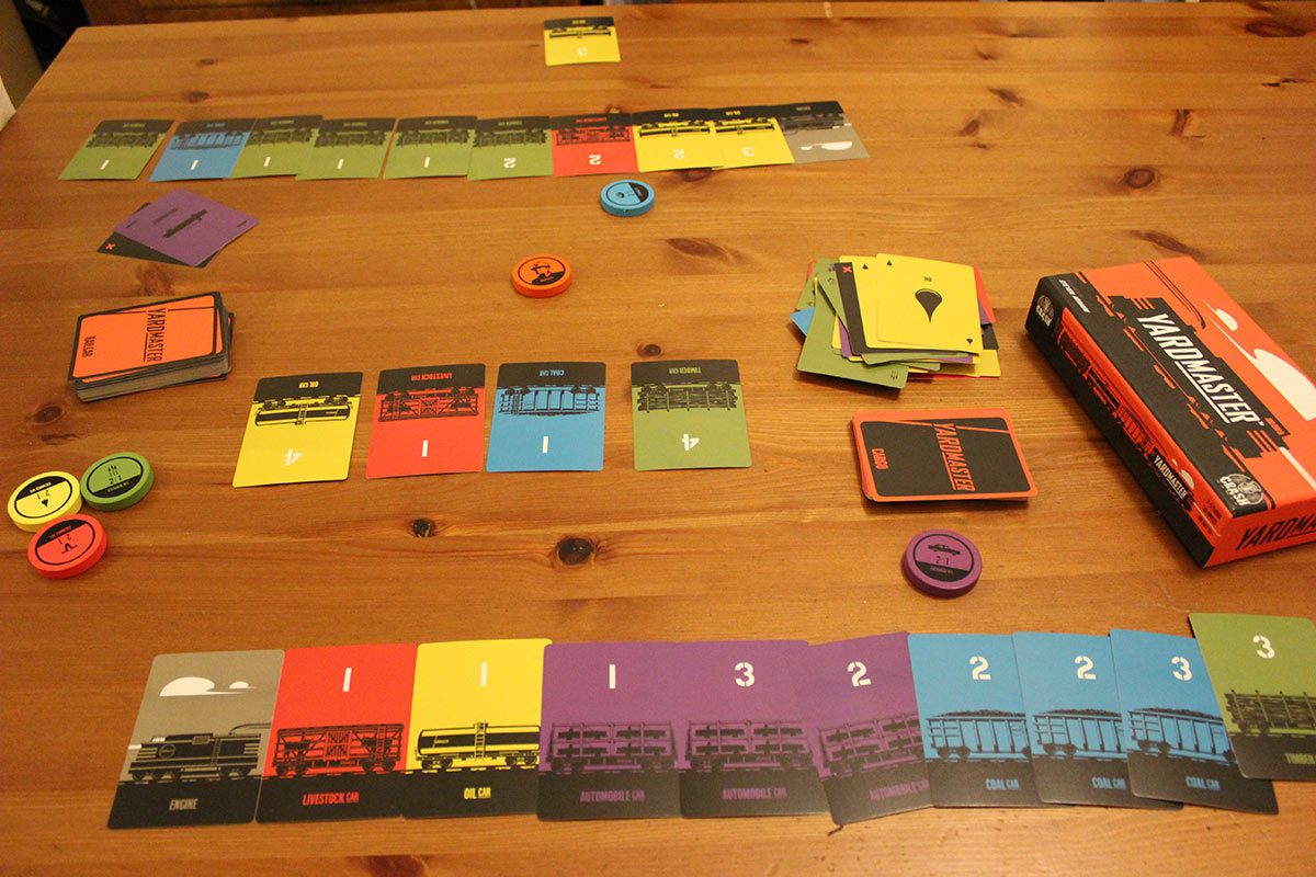 Review: Paradise Fallen & Yardmaster