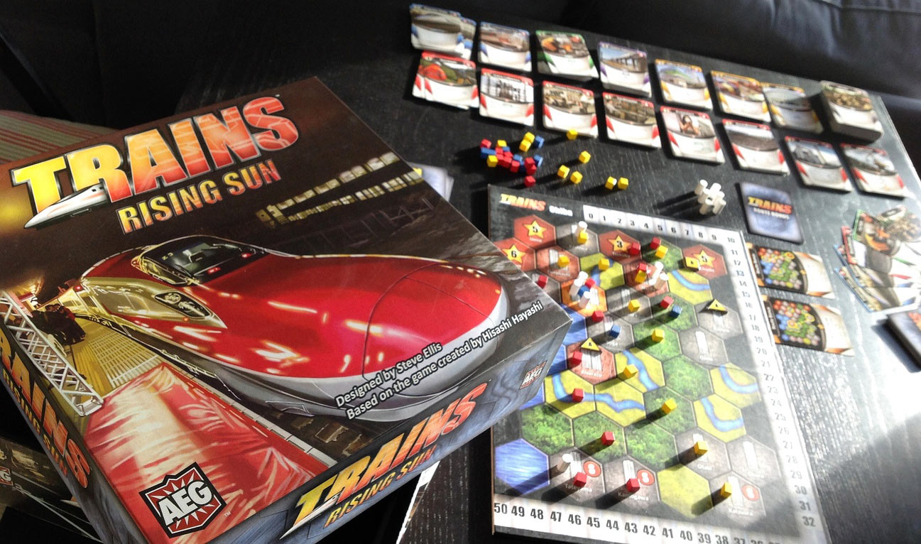 Review: Trains: Rising Sun