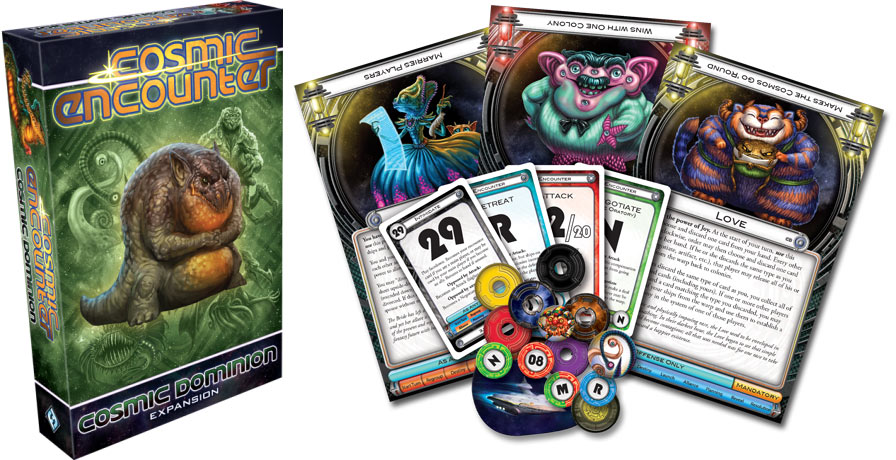 A Guide to Cosmic Encounter's 5 Expansions!