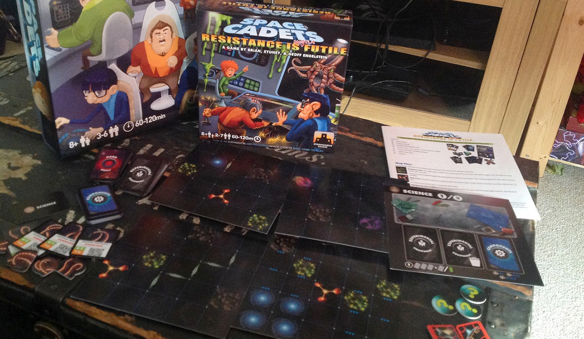 Your Guide to Space Cadets: Resistance is Mostly Futile