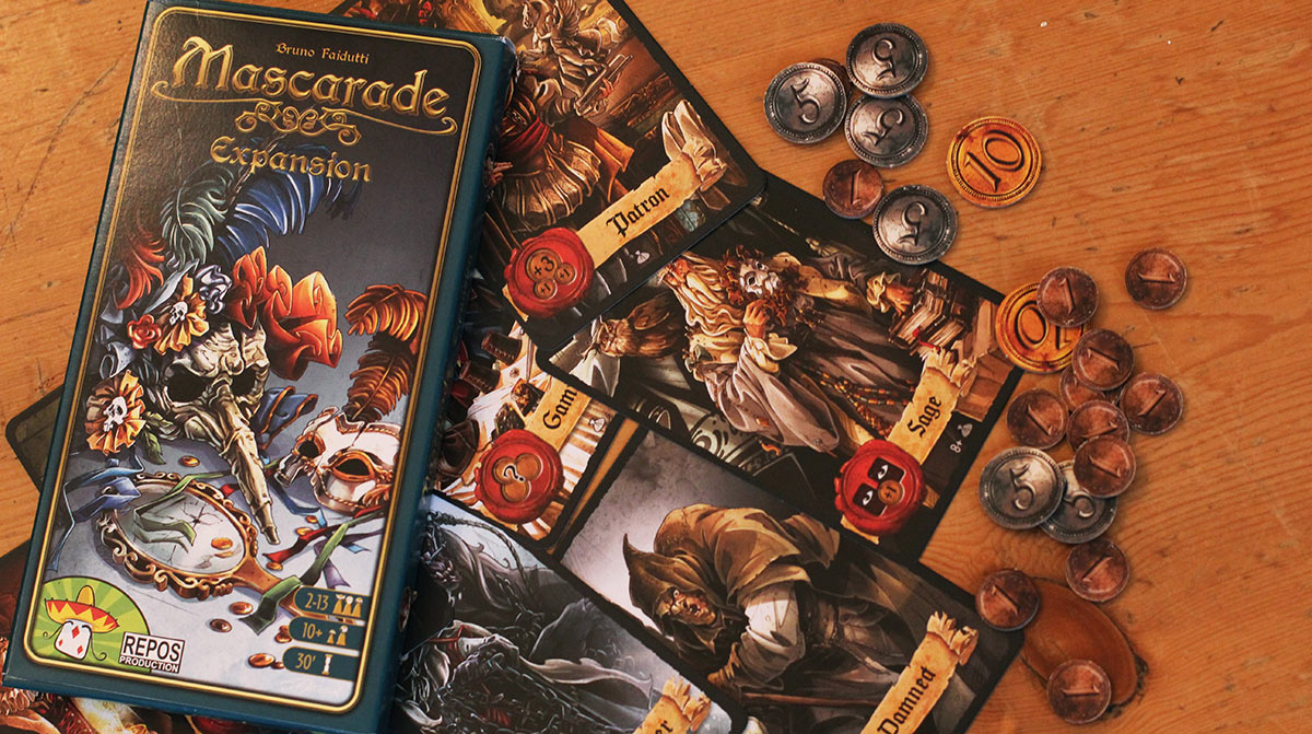 Review: Mascarade Expansion