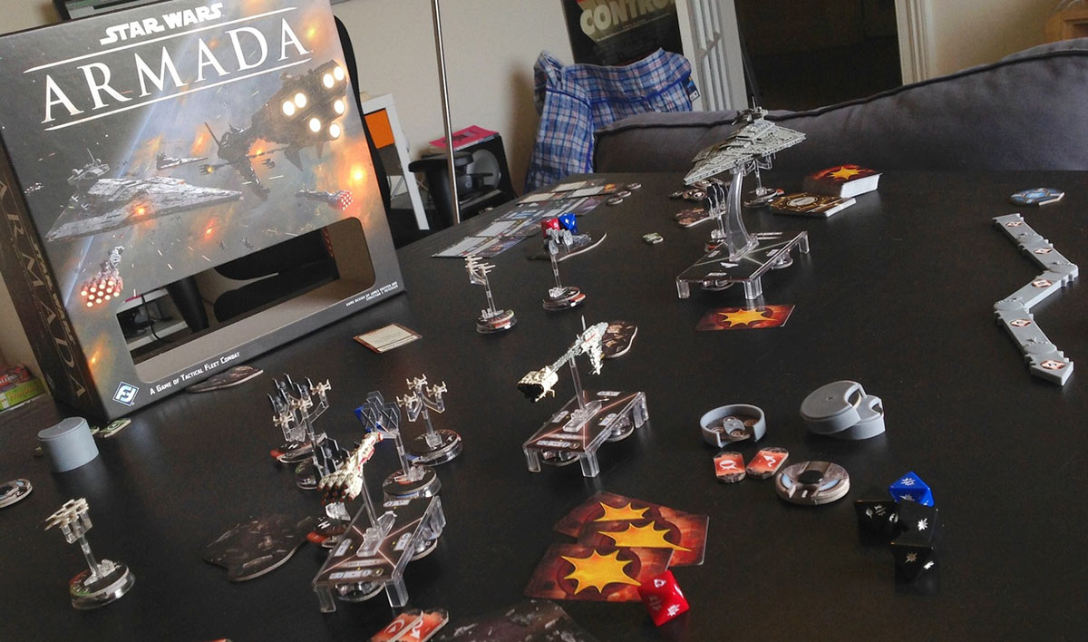 Review: Star Wars: Armada - Shut Up & Sit Down
