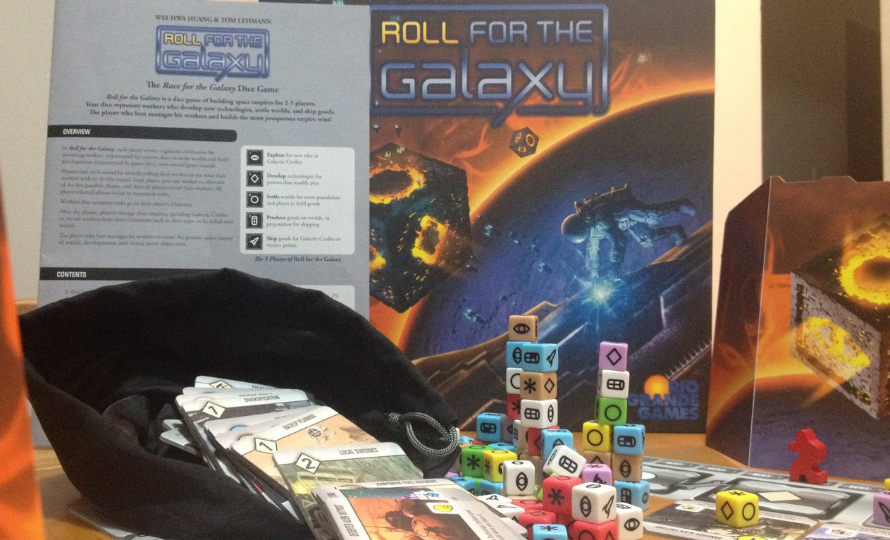 Review: Roll for the Galaxy