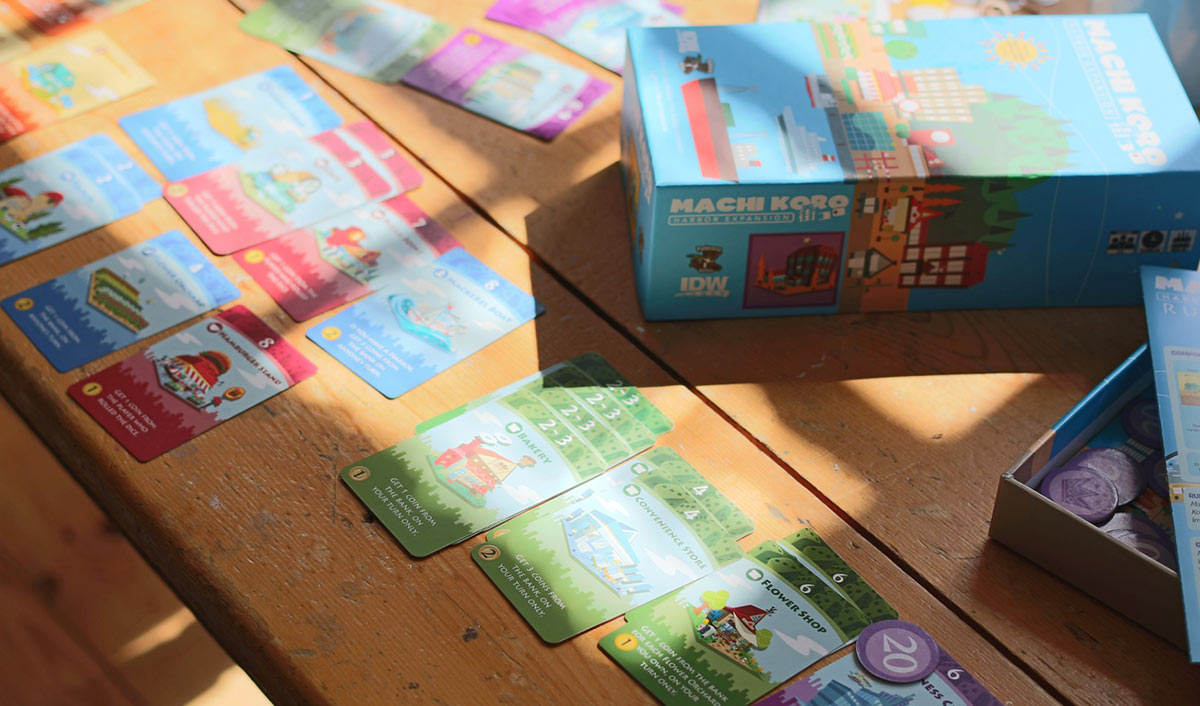 Review: Machi Koro's Harbor Expansion