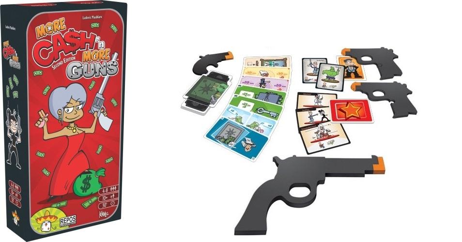 Cash n' Guns: More Cash n' More Guns