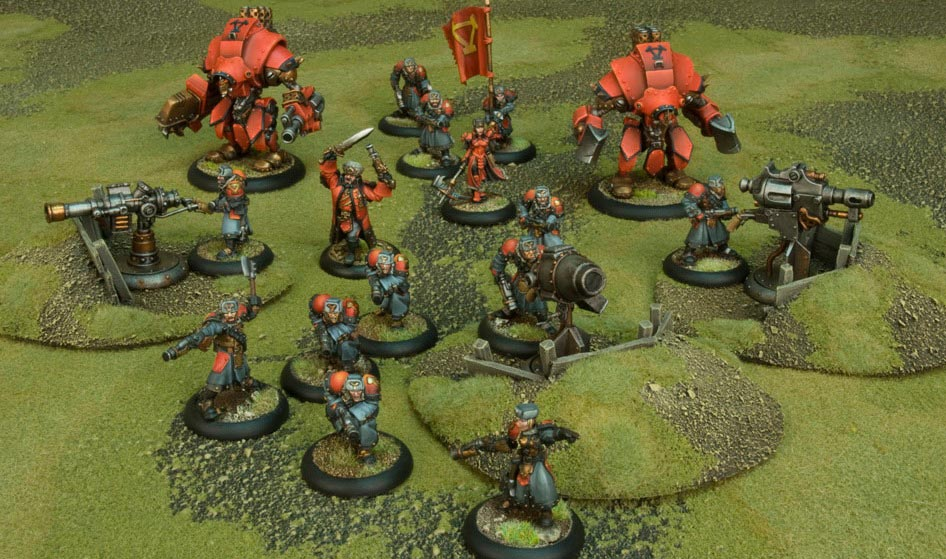 Miniatures Game Review: Warmachine & Hordes