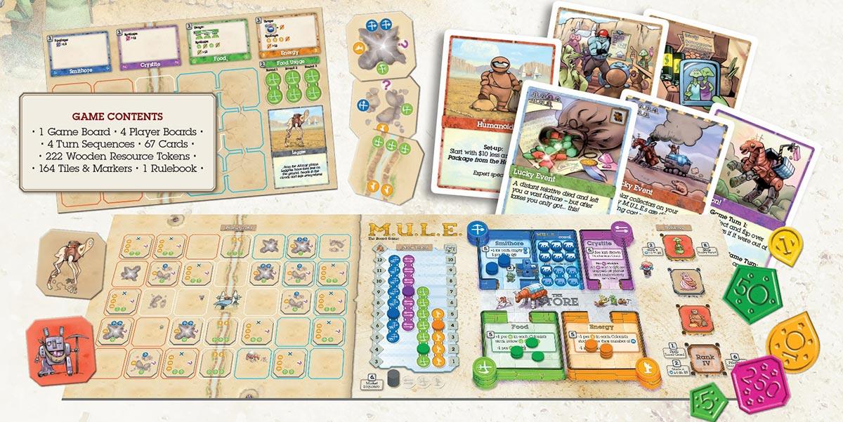 M.U.L.E. board game