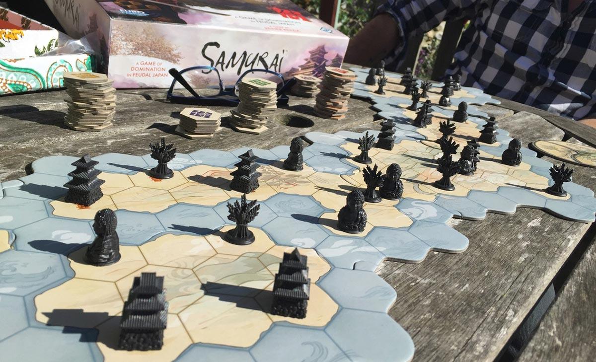 Review: Samurai - Shut Up & Sit Down