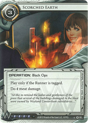 On Playmats: A Netrunner Story