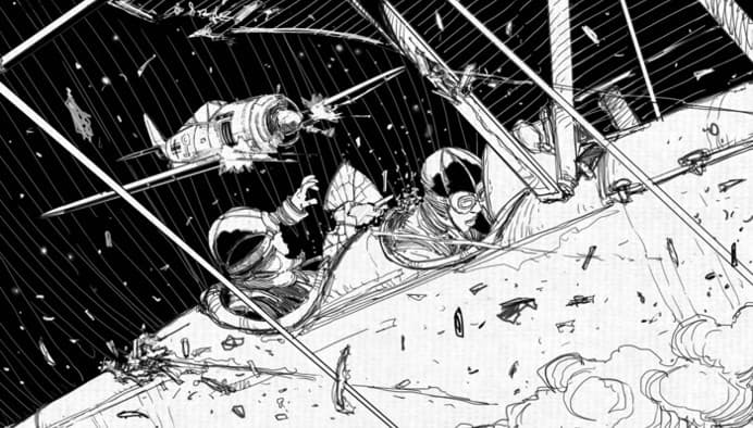 Artwork from Jason Morningstar's Night Witches