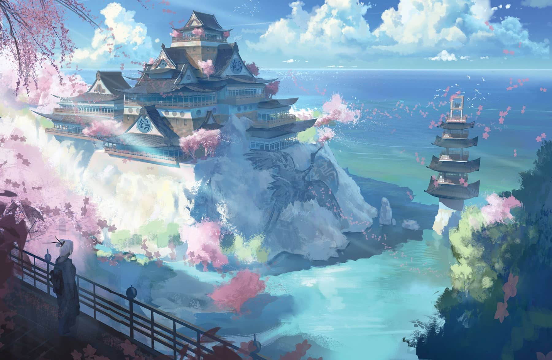 Artwork from Legend of the Five Rings