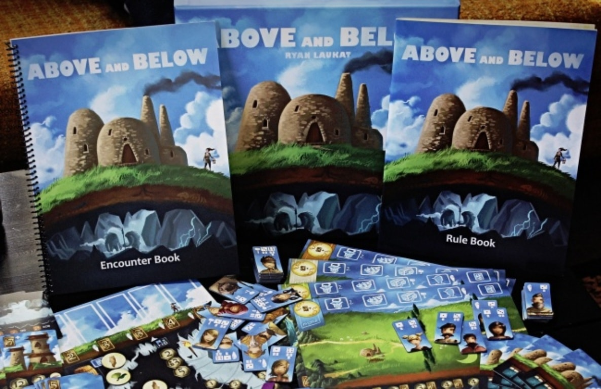 Paul's Best Game of BGGCon2015: Above and Below » Shut Up & Sit Down image