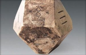 fourteen-sided die