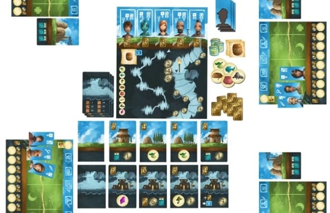 Paul's Best Game of BGGCon2015: Above and Below