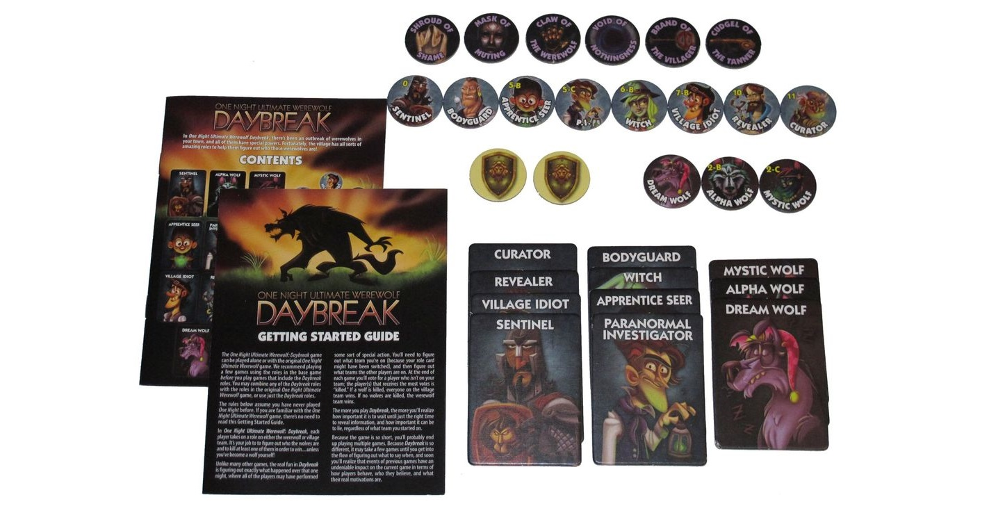 ONE NIGHT ULTIMATE WEREWOLF & DAYBREAK