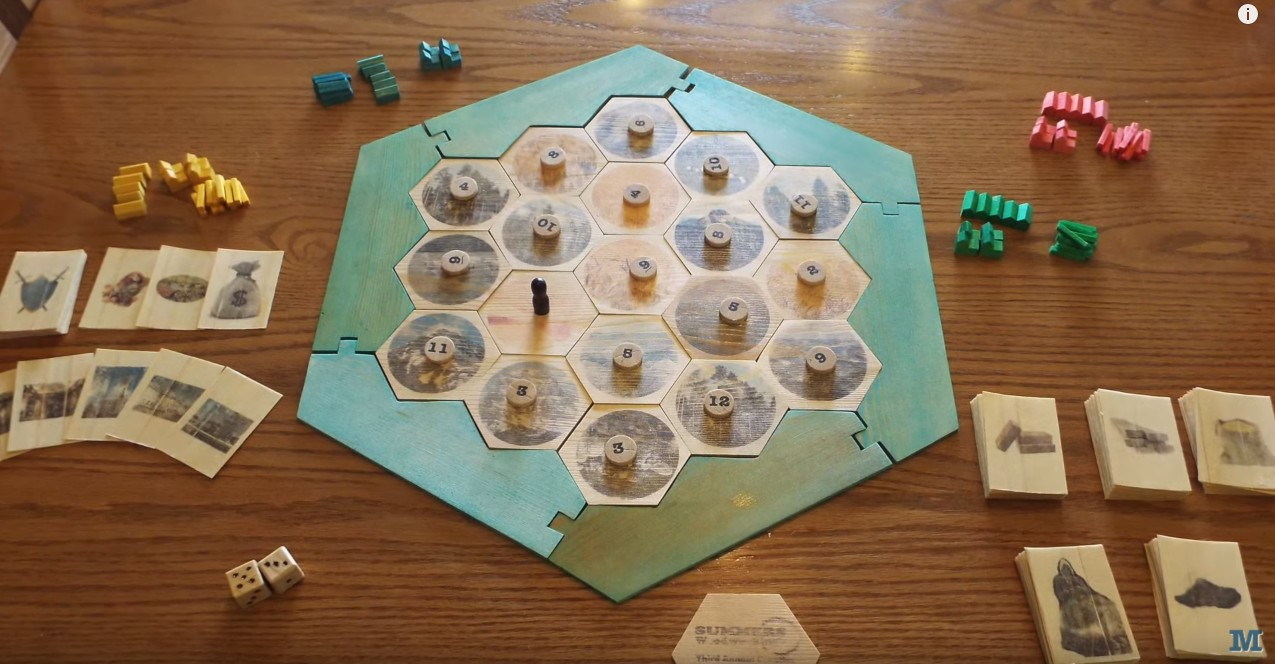 Settlers of Catan Wood Edition