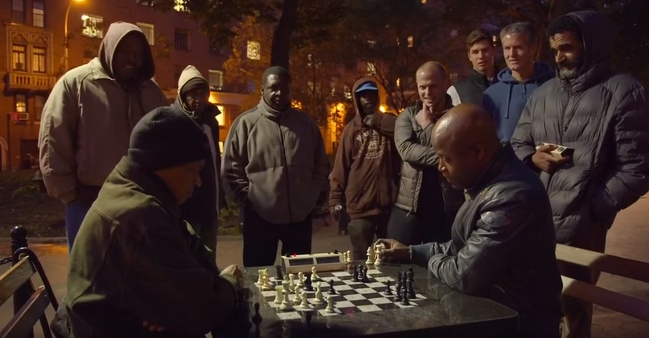 chess-playing in New York's Washington Square