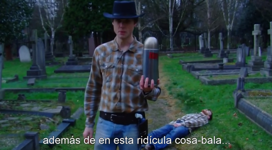 (Okay, so I found that someone had subtitled our Bang! review in Spanish and I just had to include that here! Ridicula cosa-bala!)