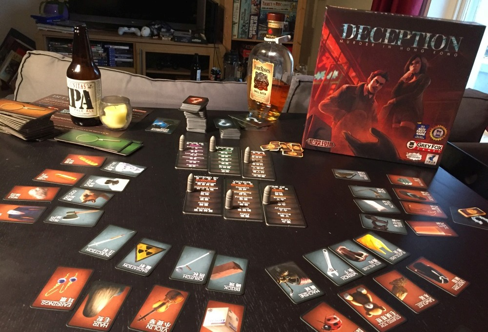 Review: Deception: Murder in Hong Kong » Shut Up & Sit Down image
