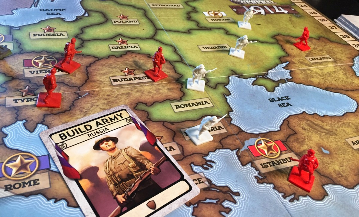 Review: Quartermaster General: 1914 » Shut Up & Sit Down