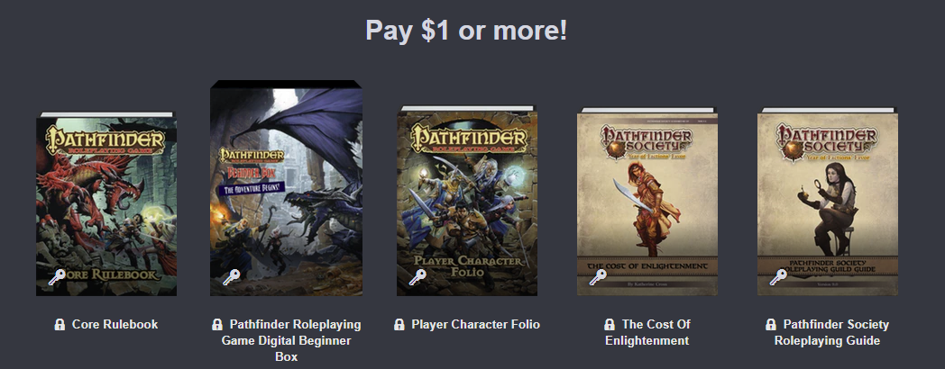 pathfinder humble bundle