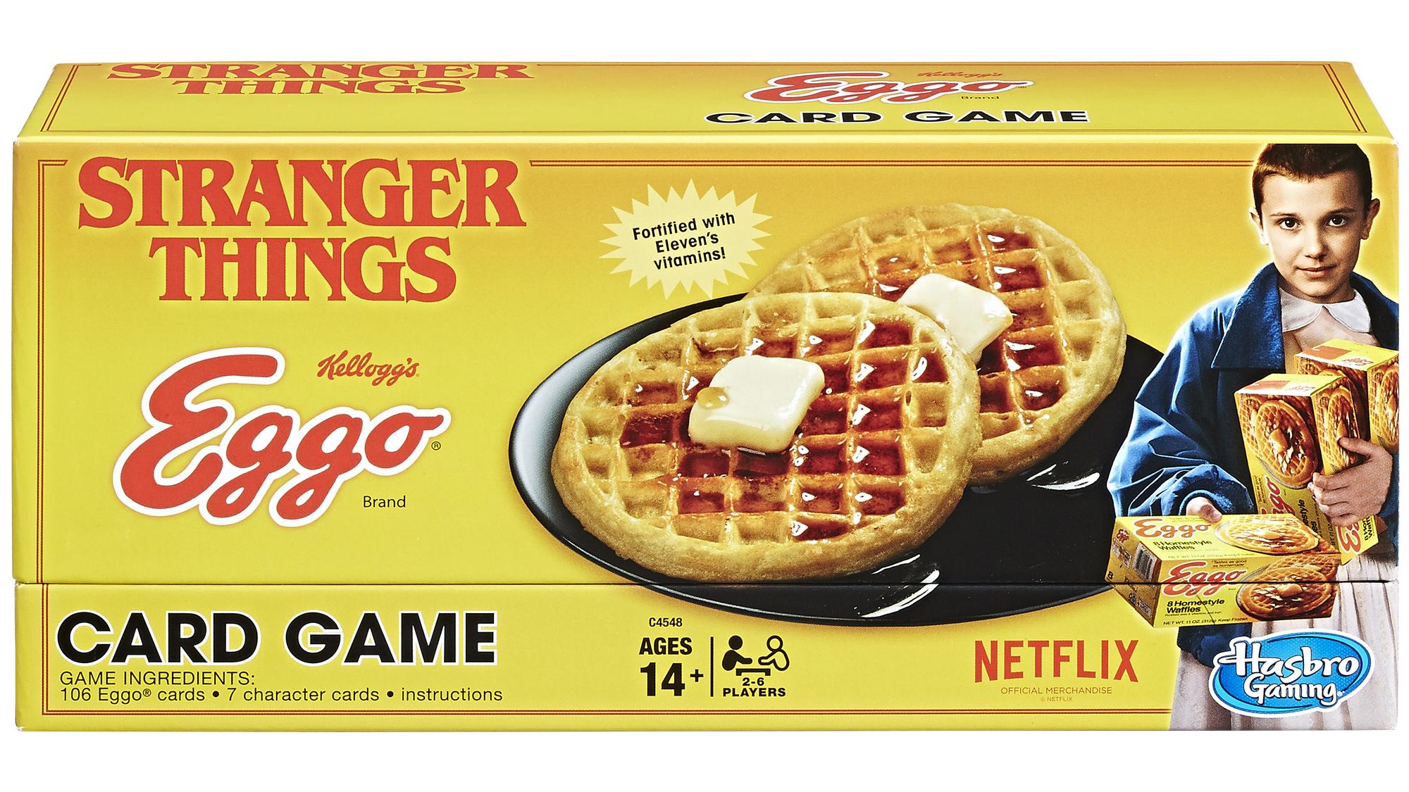 stranger things card game