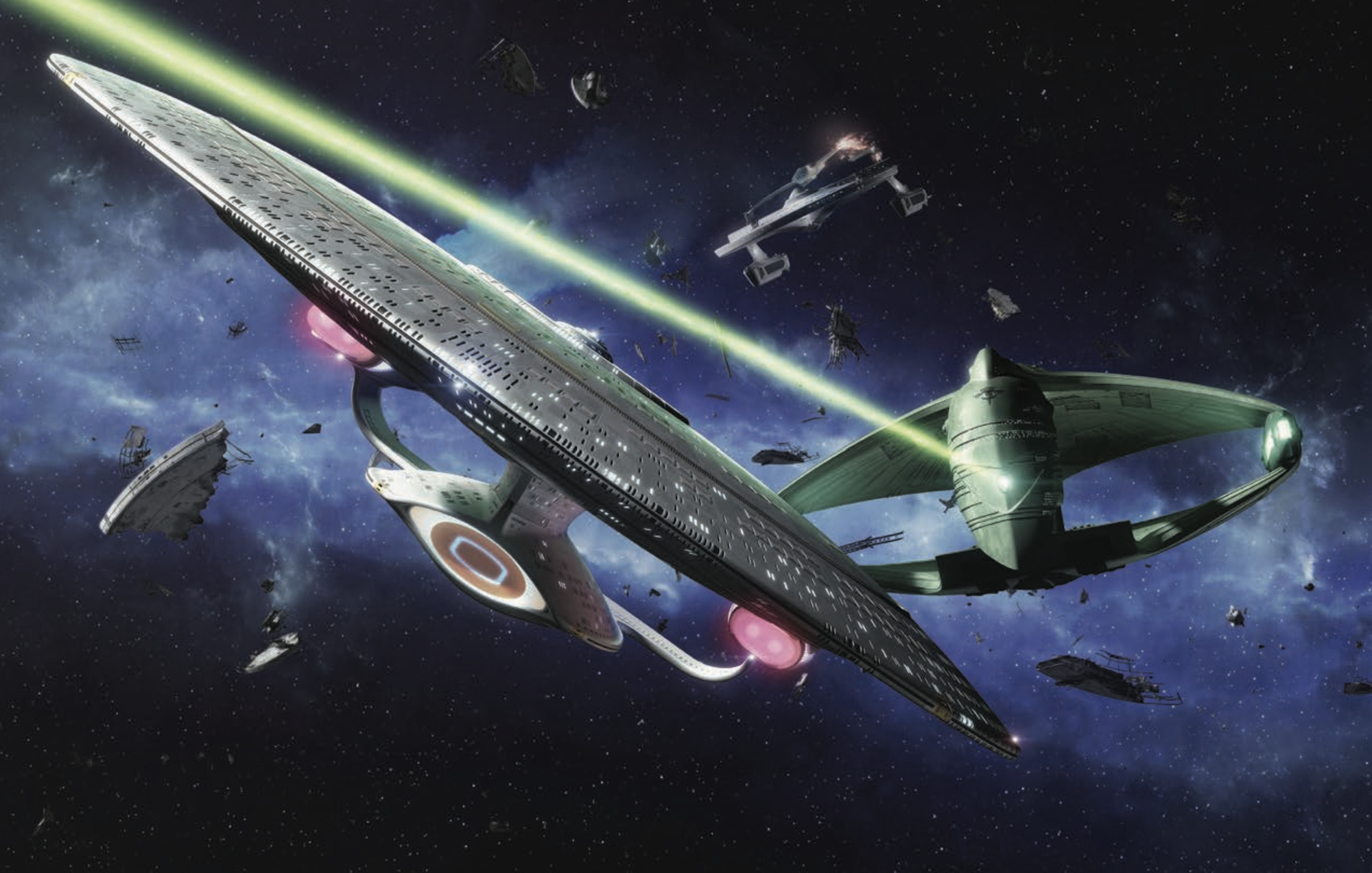 Star Trek RPG Enterprise vs Warbird