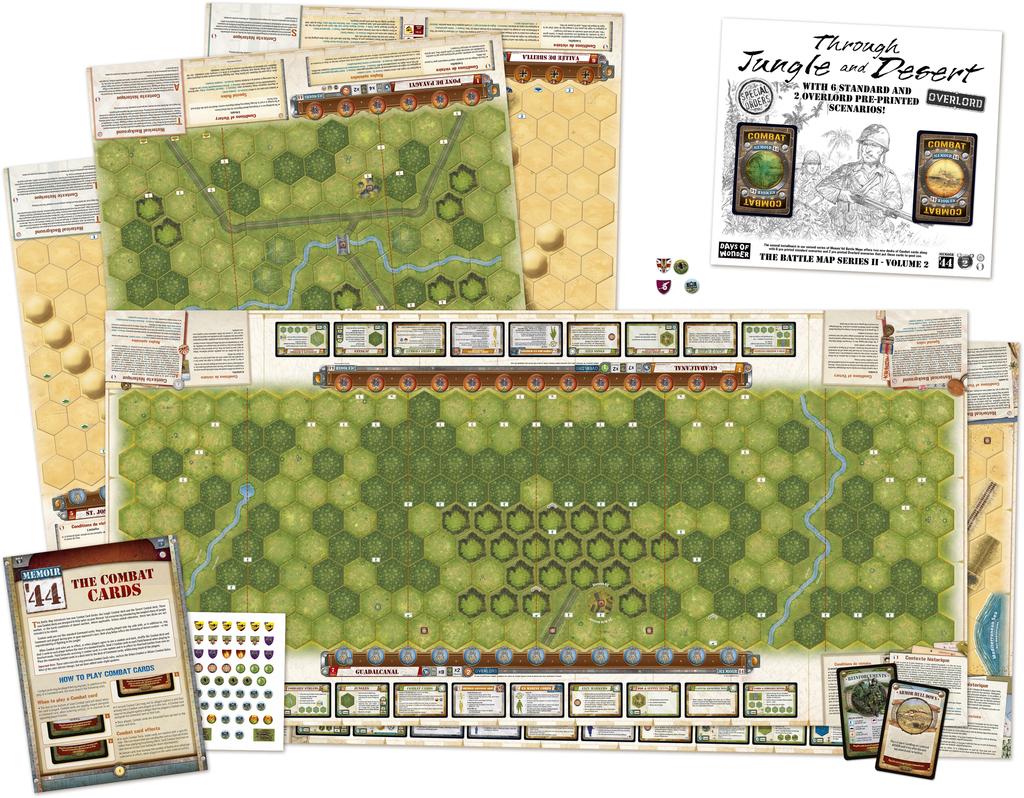 Memoir '44 Through Jungle and Desert Games News