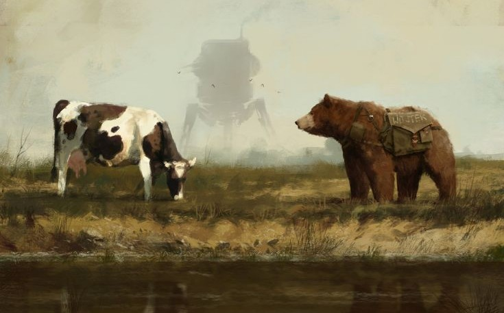 Another story impossible to ignore this week is much-loved Scythe artist Jakub Rozalski being accused of copying or, more specifically, of photobashing.