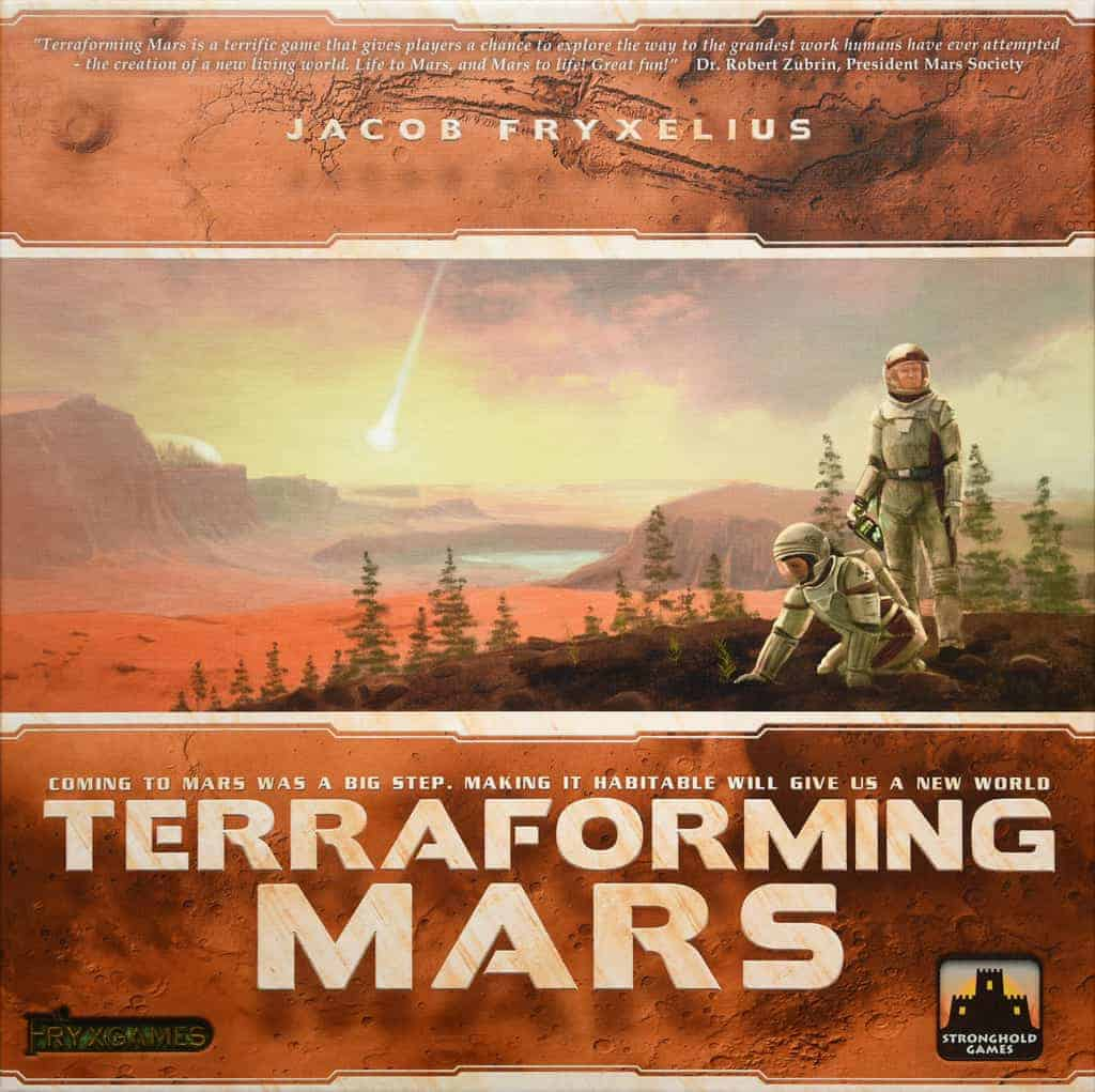 Terraforming Of Mars: Shut Up & Sit Down