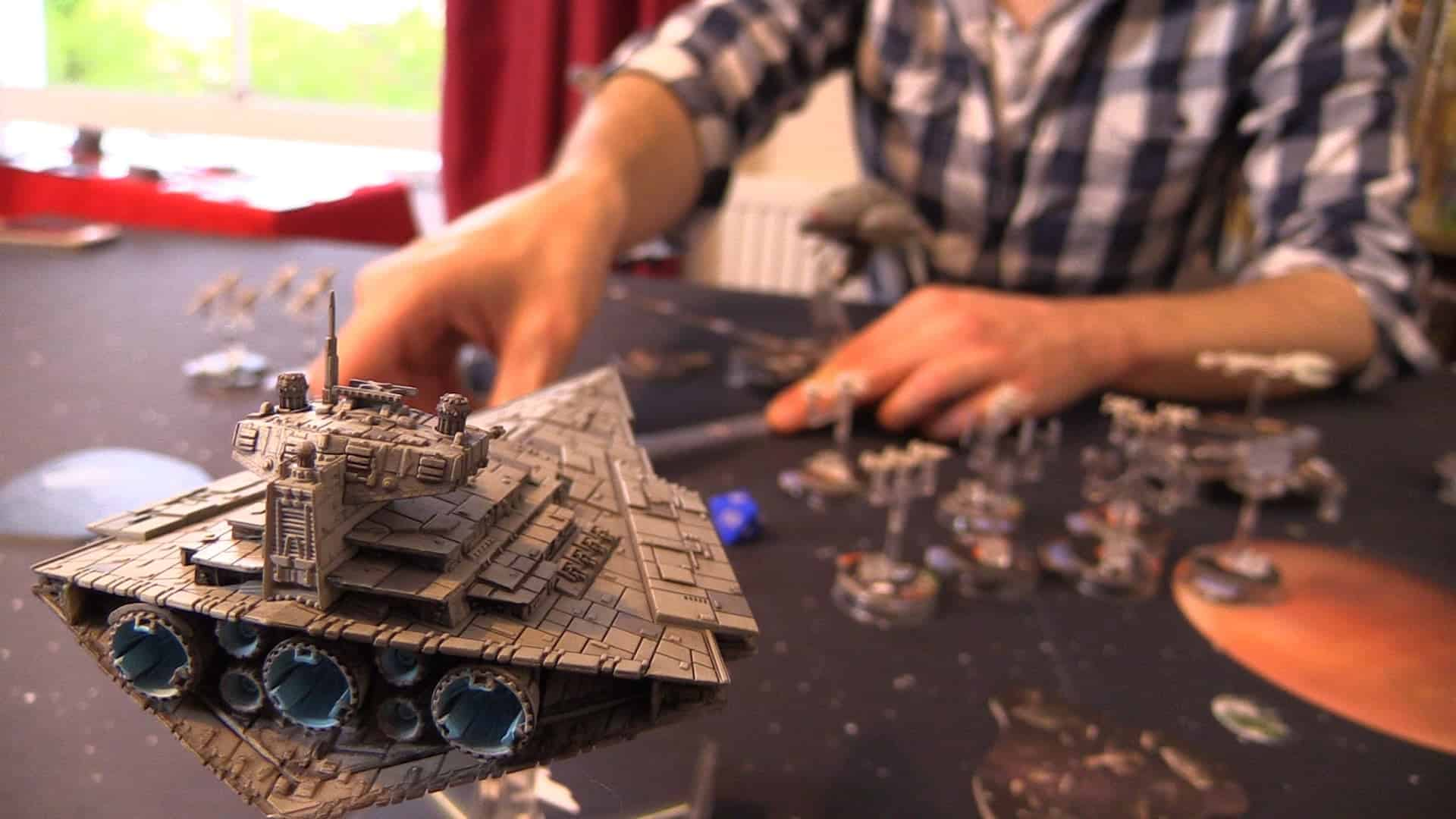 SU&SD play star wars: armada