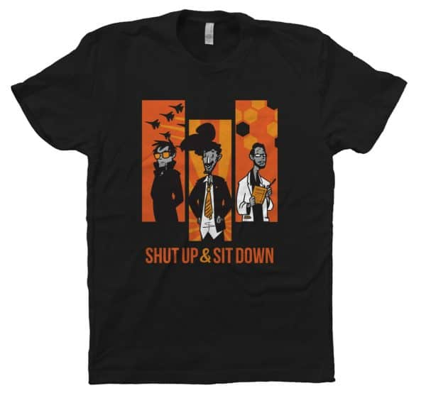 SUSD characters t-shirt