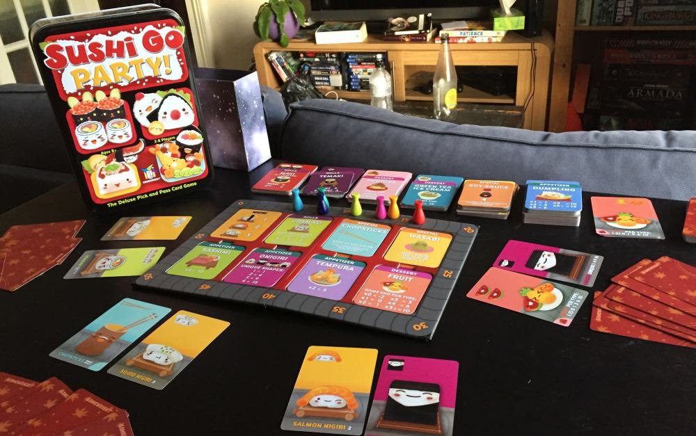 Review: Sushi Go Party! - Shut Up & Sit Down