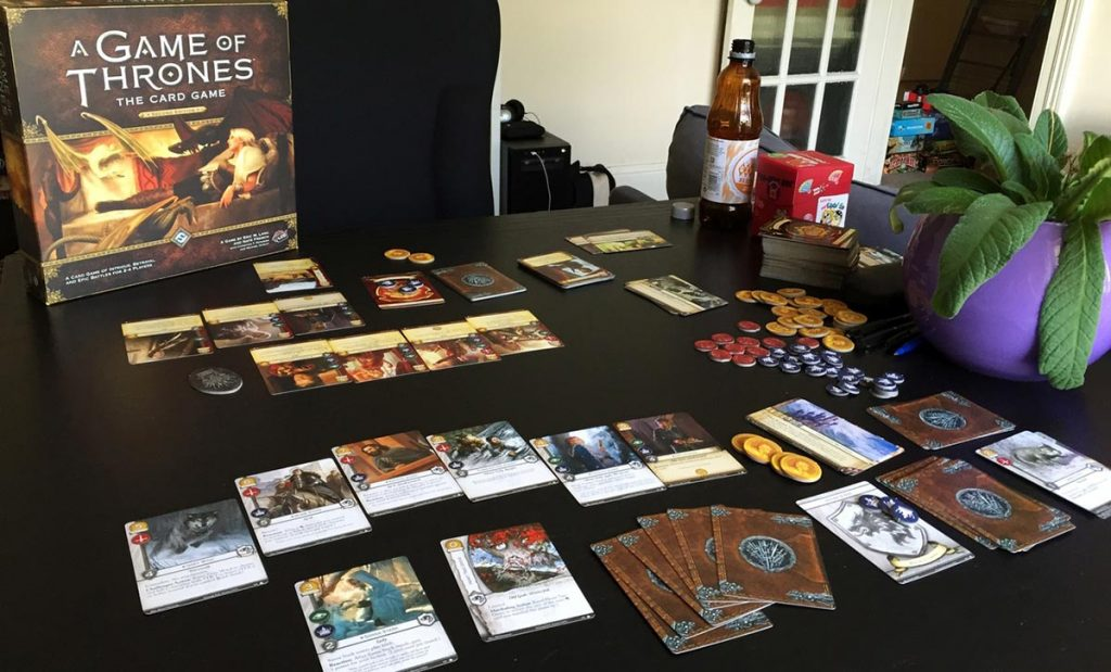 Impressions: A Game of Thrones: The Card Game (2nd Edition)