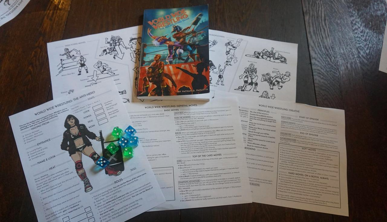 RPG Review: The World Wide Wrestling RPG - Shut Up & Sit Down