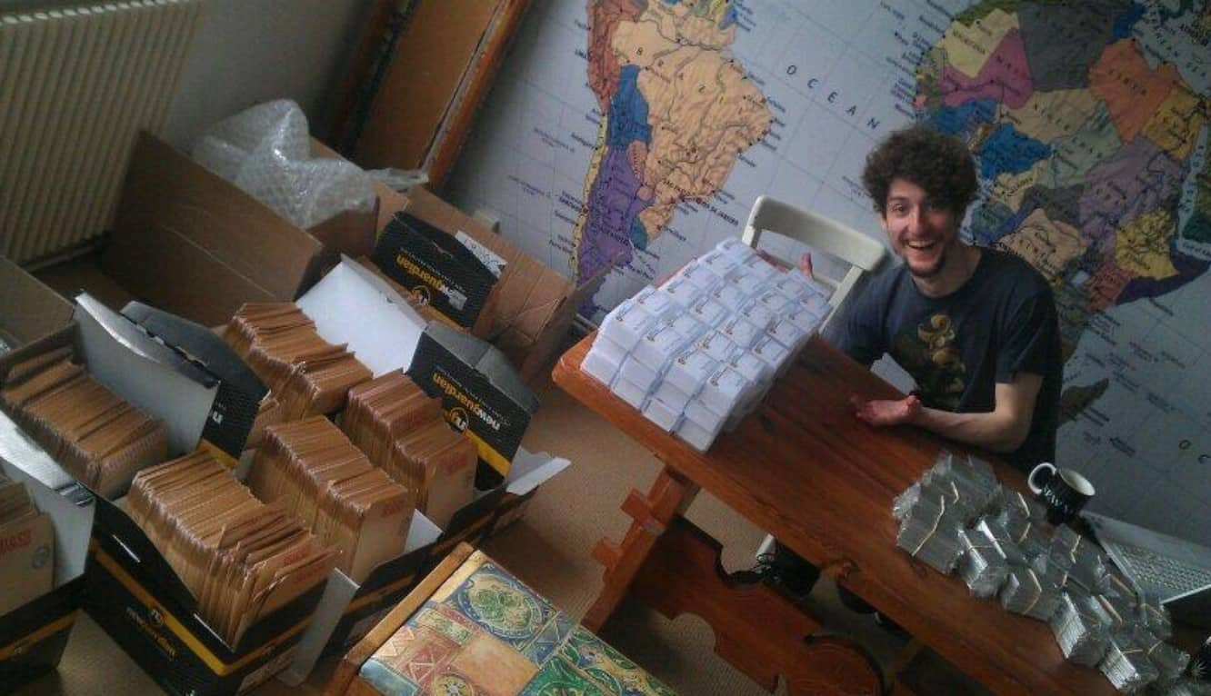 Assembly of the 2nd Gold Club Bag has BEGUN!